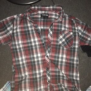 Extra Large Zoo York Plaid button down shirt